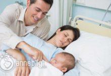 doğum sonrası hastanede bebek bakımı