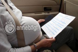 hamilelikte uzun yolculuk